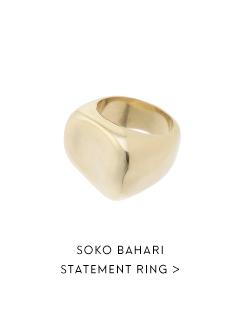 SOKO BAHARI STATEMENT RING