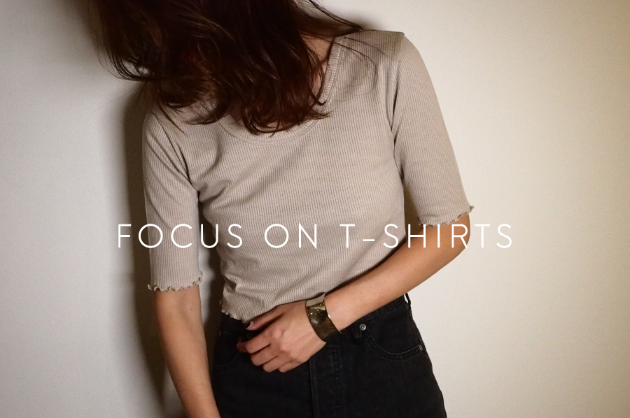 focus on T-shirts