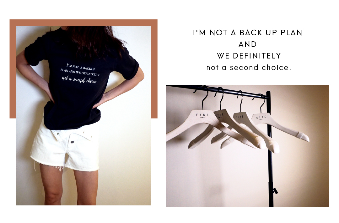 not a second choice Tシャツ