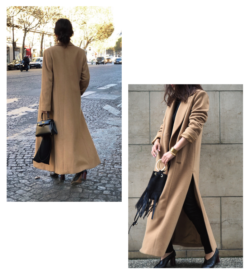 super long chester coat